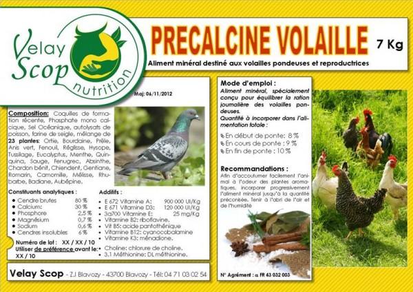 Autres productions Précalcine volailles Velay Scop